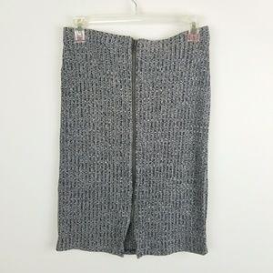 Lovers + Friends High Waist Pencil Skirt Zippers